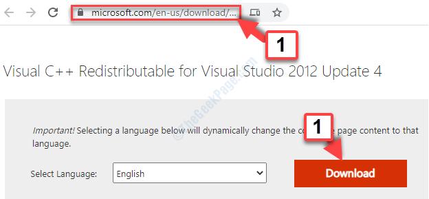 Memperbaiki Mfc110u.dll is Missing di Windows